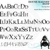 1stpage_HouseMagnetFont