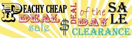 Peachy cheap blog ad